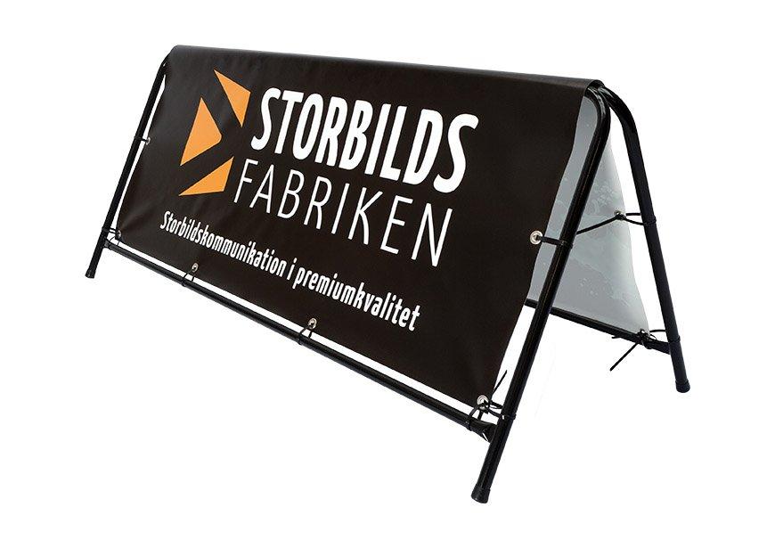 Banderollställning från Storbildsfabriken